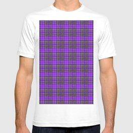 Lunchbox Purple Plaid T-shirt