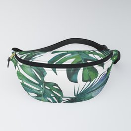 Tropical Palm Leaves Classic Fanny Pack