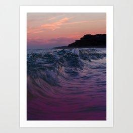 Montauk - Sunset at Ditch Art Print