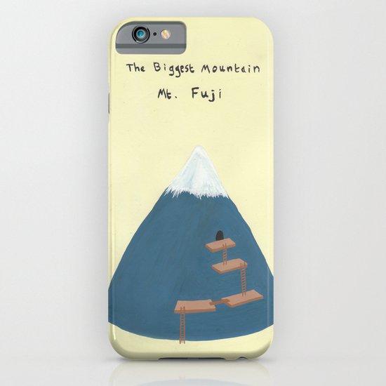 Mt Fuji iPhone & iPod Case