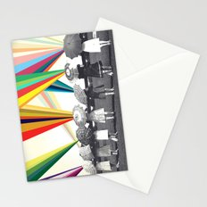 Modern women Stationery Cards