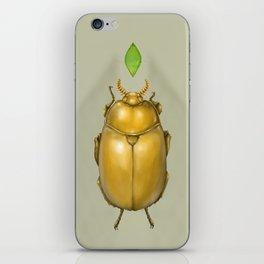 Gold bug iPhone Skin