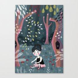 Midnight Ballet Canvas Print