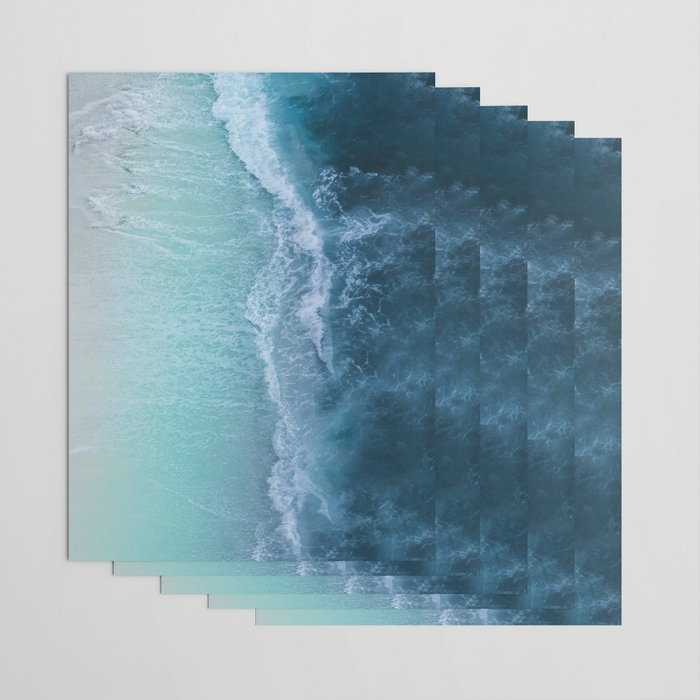 Turquoise Sea Wrapping Paper