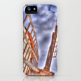 From above or below?  iPhone Case