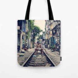 Hanoi Haircut Tote Bag