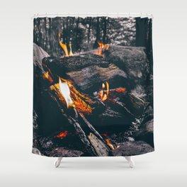 Burn Brightly Shower Curtain