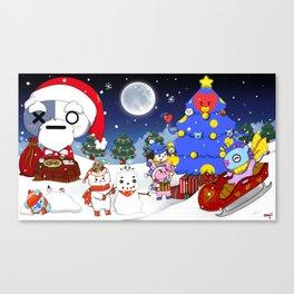 BT21 Christmas! Canvas Print