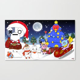 BT21 Christmas! Canvas Print