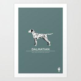 Dalamatian Art Print