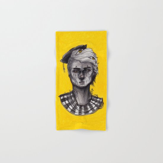 Seen in Yellow Hand & Bath Towel