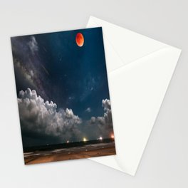 Afternoon sky Stationery Cards