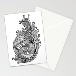 Zentangle Snail Stationery Cards