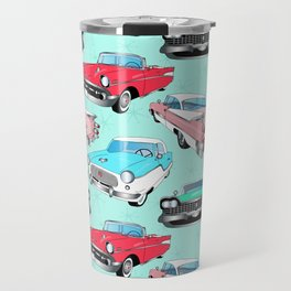 Retro Fins + Fenders in Mod Mint Travel Mug