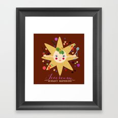 Instant Happiness Framed Art Print