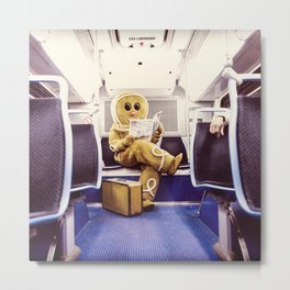 Gingerbread Man At Large Pt3 Metal Print
