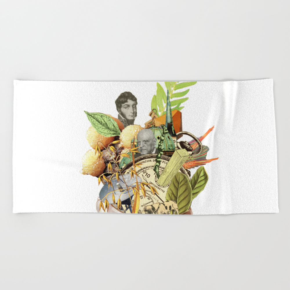 Another Cup Of Alicia's Tea Beach Towel by Martingraphic BTL8401125