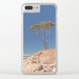 Lake Grace 3 Clear iPhone Case