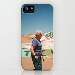 Salvation Lady iPhone Case