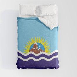 Flag of Santa Cruz Comforters