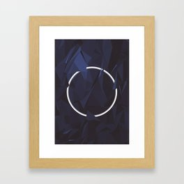Orb Framed Art Print