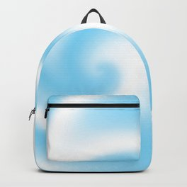 Blue Raspberry Ribbon Candy Fractal Backpack