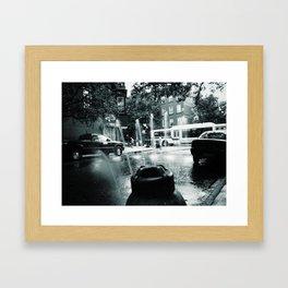 City Stream Framed Art Print