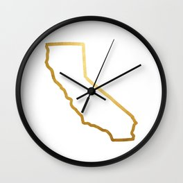 The Golden State Wall Clock