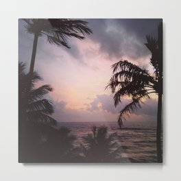 Sri Lanka sunset Metal Print