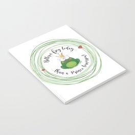 Funny Frog || Better a frog today... || Hen Party || Engagement || Funny gift Notebook