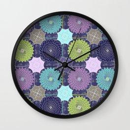 Waterlilies Wall Clock