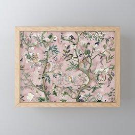 Wild Future pink Framed Mini Art Print