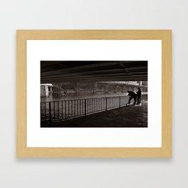 Autumnal Symphony of a Metropolis Framed Art Print