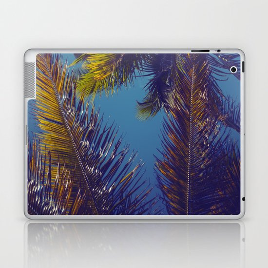 Palm Sky Laptop & iPad Skin