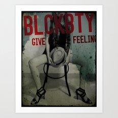 BLCKBTY Art Print