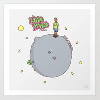 fresh prince Art Prints featuring Little Fresh Prince by Jaco Haasbroek