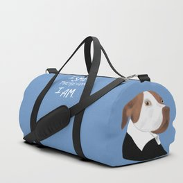 Descartes' Dog - I Smell Therefore I Am Duffle Bag