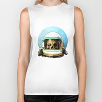 dead space Biker Tanks featuring Dead Space by Ryan Huddle House of H
