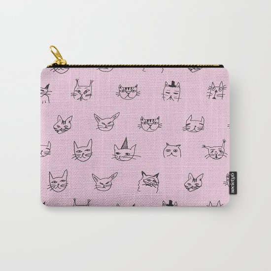 Crazy Cats! Carry-All Pouch