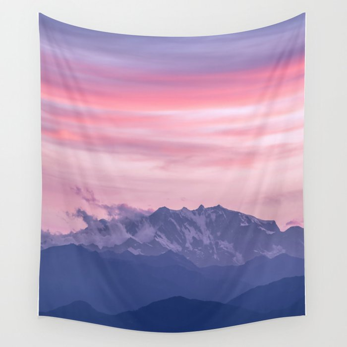 Monte Rosa Wall Tapestry