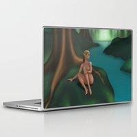 elf Laptop & iPad Skins featuring Elf by Egberto Fuentes