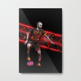 Control Pass And Repeat Metal Print