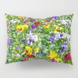 More Pansies Pillow Sham