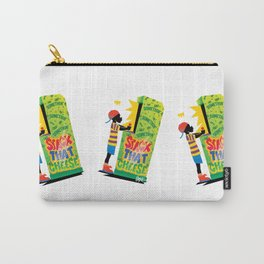 Stack That Cheese Carry-All Pouch