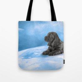 English Cocker Spaniel puppy, Drawing Tote Bag