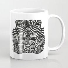 Maori Moko | Tribal Tattoo | New Zealand | Black and White Mug