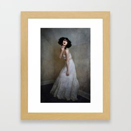 Little Corner Framed Art Print