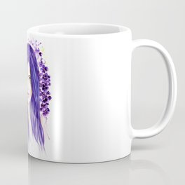Pansy Flowers Coffee Mug
