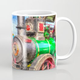 Traction Engine And Steam Lorry Art Coffee Mug