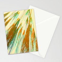 Earthen Wheat Burst Stationery Cards